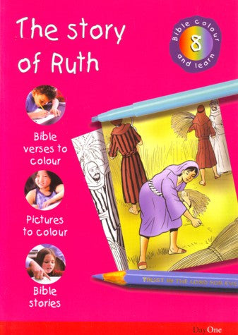 Story Of Ruth Bible Colour And Learn 8