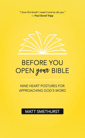 Before You Open Your Bible PB