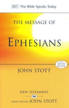 The Message of Ephesians: With Study Guide (Used Copy)