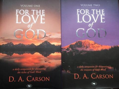 For The Love of God 2 Volume set