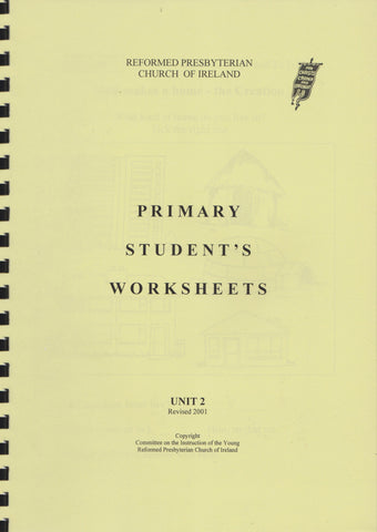 Primary Student's Worksheets Unit 2