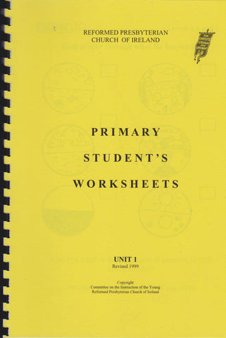 Primary Student's Worksheets Unit 1