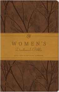 ESV Women's Devotional Bible: English Standard Version Brown Trutone Birch Design