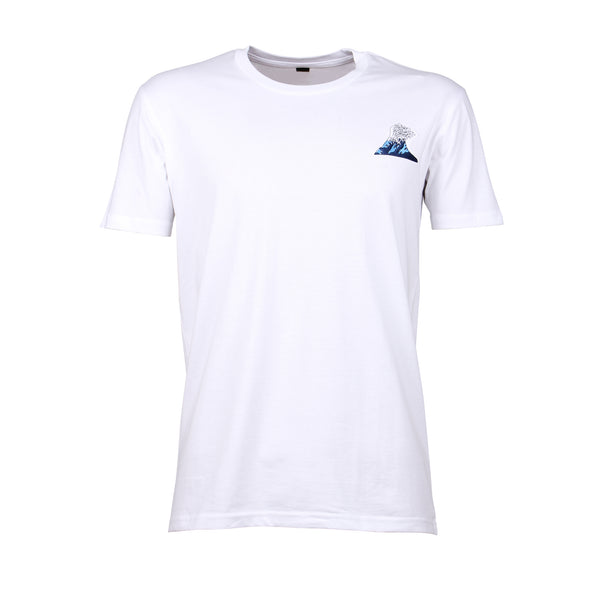 WAVE EMBROIDERY TEE