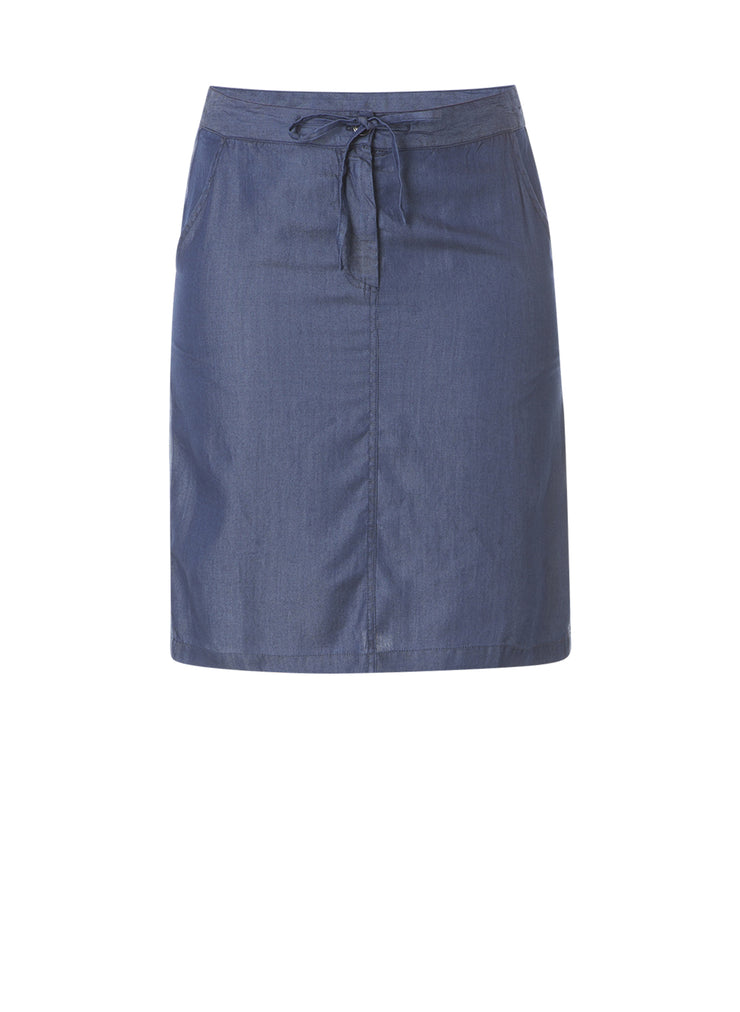 Denim Blue Skirt