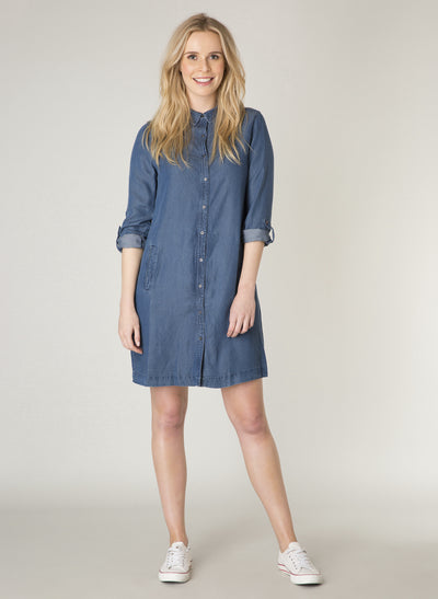 Denim Blue Dress