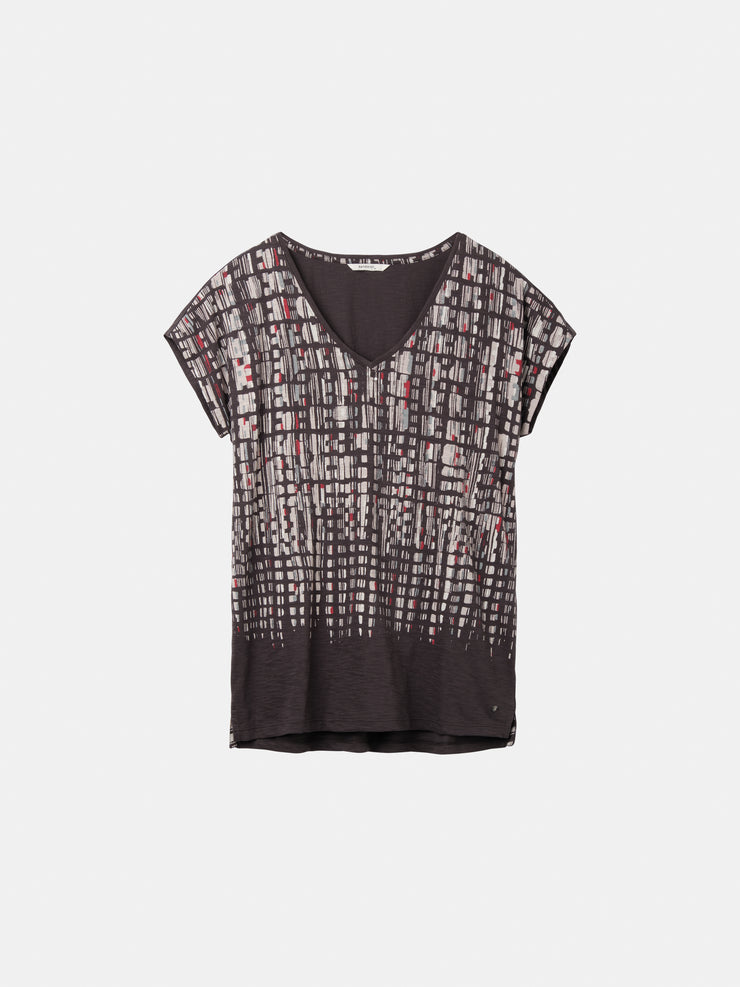 Speckled Print T-Shirt