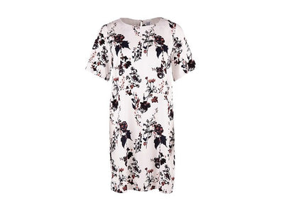 Flower Print T-Shirt Dress