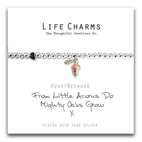 LC|LC073BW From Little Acorns Bracelet