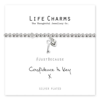 LC|LC107BW Confidence is Key Bracelet