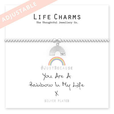 You Are a Rainbow In My Life Bracelet