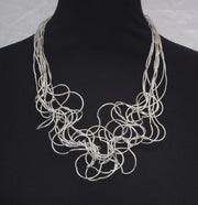 Statement Wire Choker Necklace
