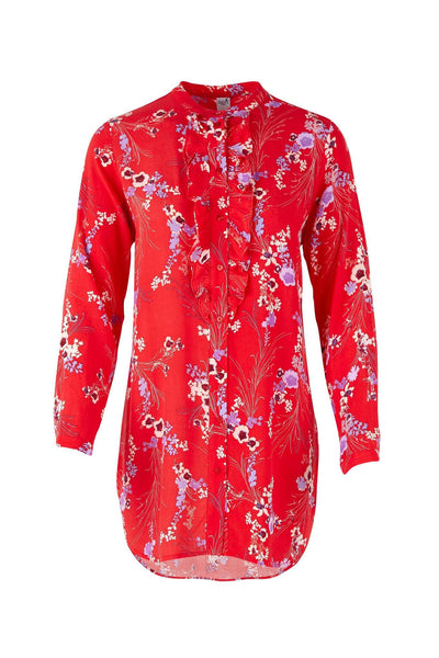 Red Love Tunic