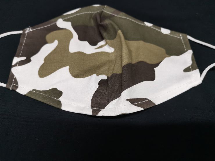 Army Print Face Mask
