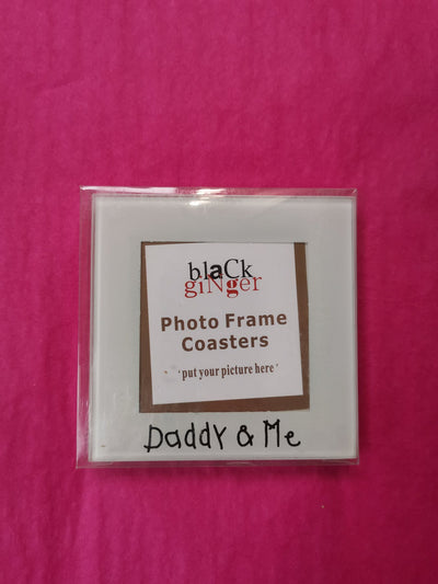 Daddy and Me Coaster