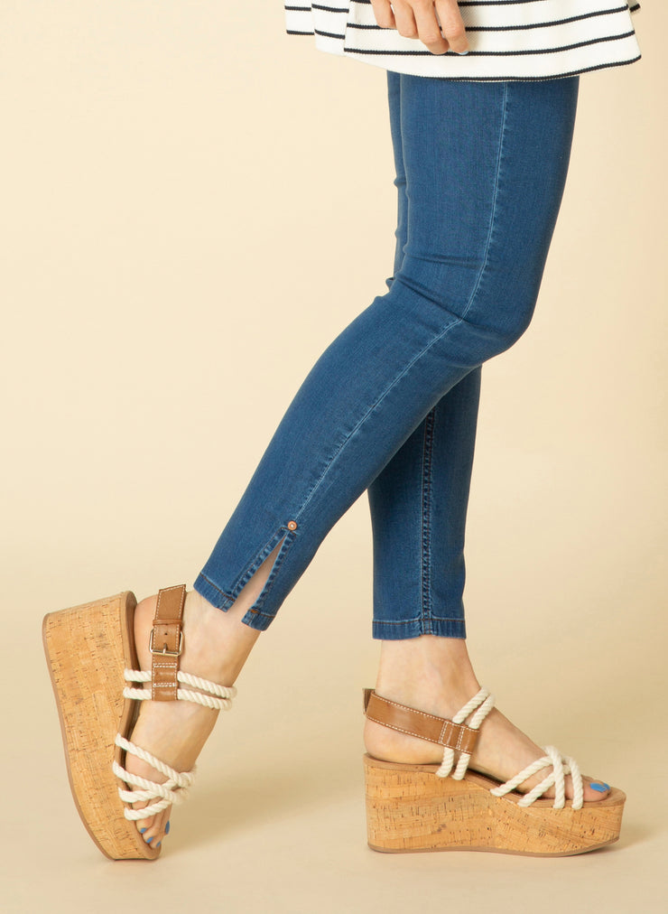 Joy Essential Mid Blue Bottoms