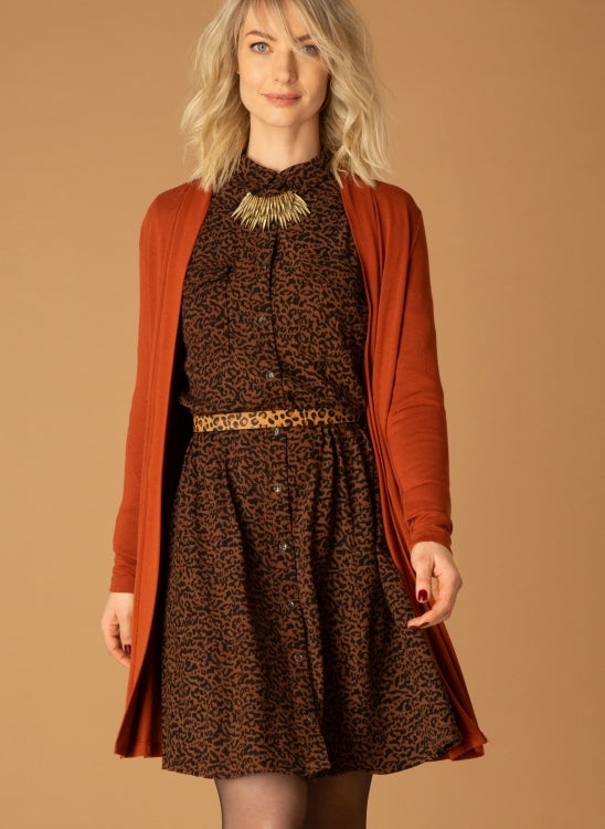 Warm Brown Dress
