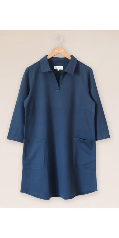 Twill We Shirt Dress