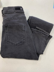 Grey Jean with Pearl Detail