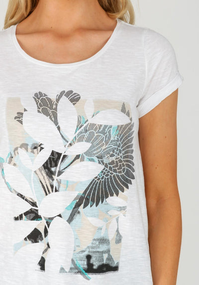 Cotton Print T-Shirt