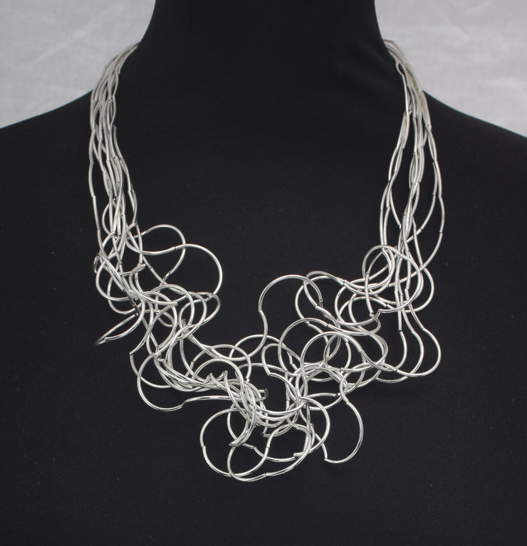 Statement Wire Choker Necklace nk190