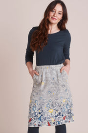 Night Garden Printed Skirt