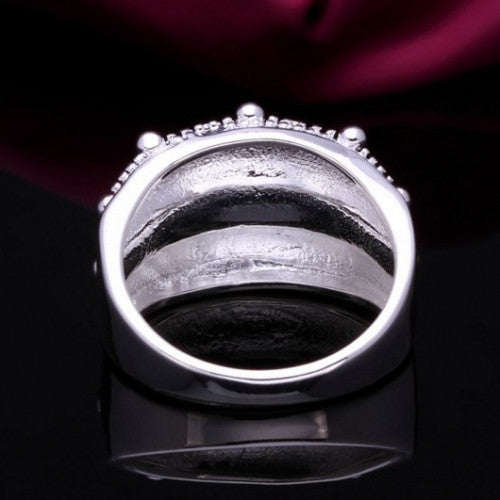 Fashion Silver Sea Urchin Skin Ring