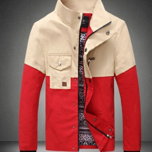 Men Fashion Outerwear Outdoor Jacket