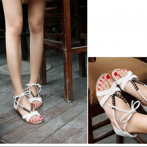 Flat Heel Soft Bottom Sandals