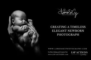 Capture and Create this sweet, simple newborn pose