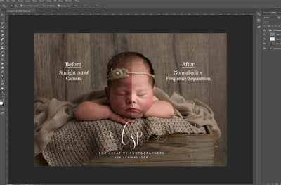 Understanding Frequency Separation in Photoshop | 3-Part free video series | in depth tutorials