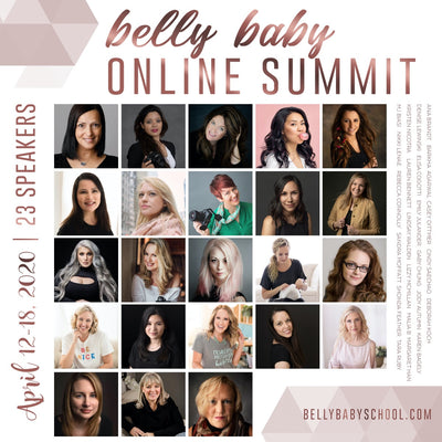 FREE front row seat this week only to 30+ educational videos at the online Belly Baby Summit 2020