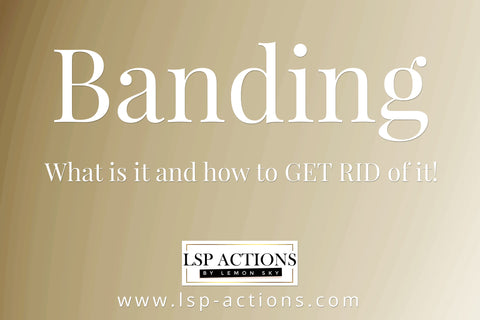 Banding in photoshop how to remove banding