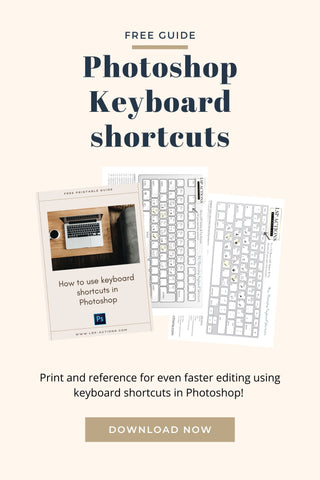 How to use photoshop keyboard shortcuts | Free guide