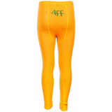 4funkyflavours yellow Legend knitted kids footless tights - back