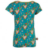 4funkyflavours teal 3 Birds t-shirt