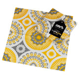 Mini Moderns yellow darjeeling paper napkin with pack