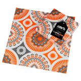 Mini Moderns orange darjeeling paper napkin with pack