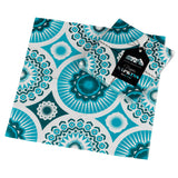 Mini Moderns blue darjeeling paper napkin with pack