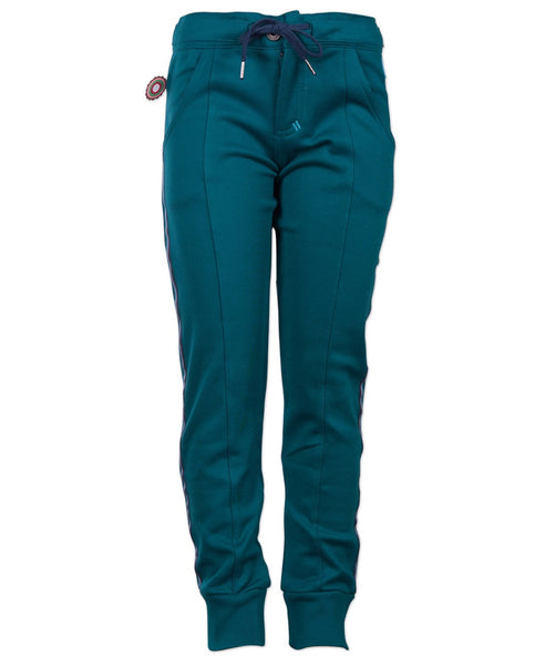 4funkyflavours teal Seasons trousers