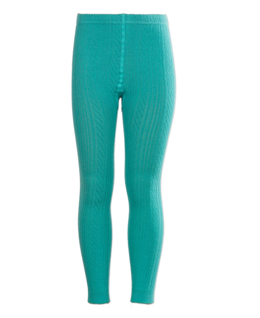 4funkyflavours turquoise On the Run footless tights