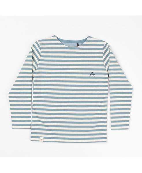 Albababy bluestone stripe Hannibal top