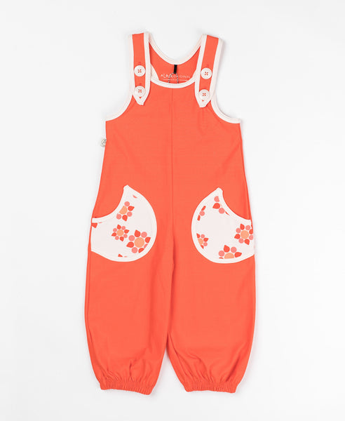 Albababy orange Haddow baggy crawlers