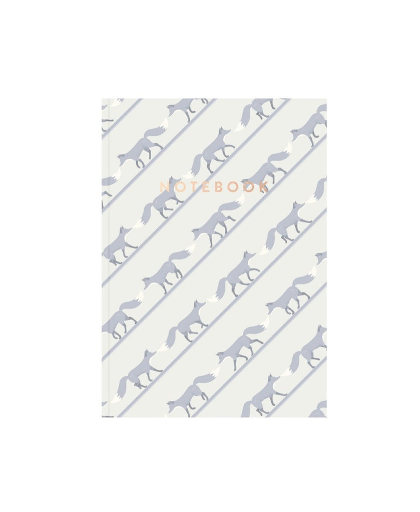 AHA Design blue quinnstripe notebook