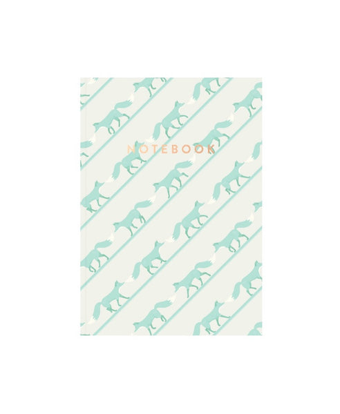 AHA Design green quinnstripe notebook