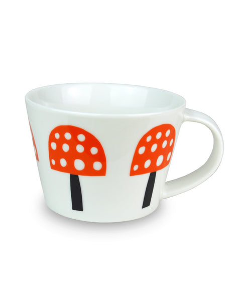 Becky Baur mushrooms mug