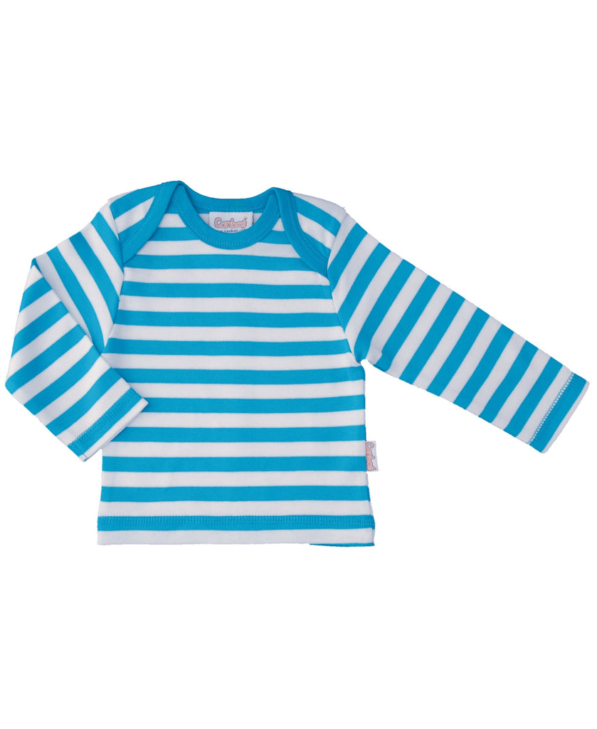 Canboli blue striped top