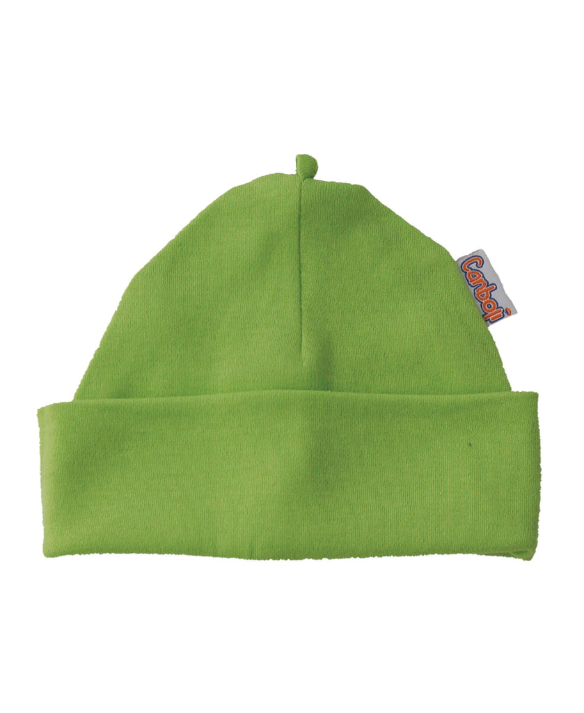 Canboli green baby hat