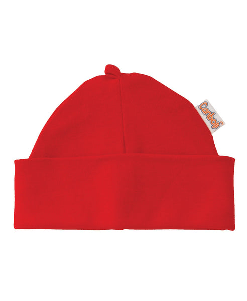 Canboli red baby hat