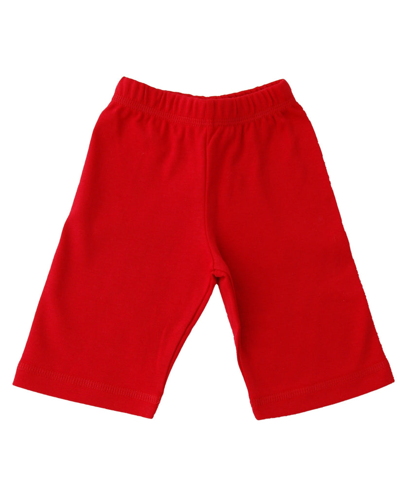 Canboli red baby trousers